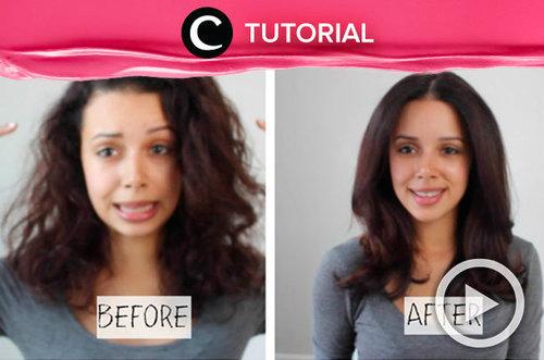 Penasaran trik blow-dry rambut ala salon? Yuk, cek di video berikut: http://bit.ly/2BdVHdL . Video ini di-share kembali oleh Clozetter @saniaalatas. Intip juga tutorial lainnya di Tutorial Section.