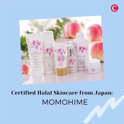 Bagi para Clozetters muslim yang ingin menggunakan produk skincare asal Jepang yang juga langsung diproduksi di sana, wajib kenalan dengan @momohime_indonesia_official! Dulu Clozette pernah coba produknya dan super recommended! Momohime menggunakan ekstrak buah peach sebagai kandungan utamanya, dan sudah mengantongi sertifikat halal, lho. Cek videonya untuk kenalan lebih lanjut dengan Momohime, ya..📷 @momohime.halal.japan @itsirnadewi#ClozetteID #ClozetteIDVideo #ClozetteIDCoolJapan #ClozetteXCoolJapan