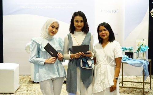 Thank you untuk semuanya yang sudah hadir di acara @laneigeid hari ini. ❤️❤️.#ClozetteIDxLaneige #LaneigeIndonesia #CreamSkinRefiner #ClozetteID