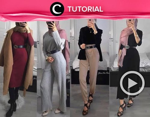 Modest style to try this weekend: http://bit.ly/2lQ01v0. Video ini dibagikan kembali oleh Clozetter @kyriaa. Lihat juga tutorial lainnya di Tutorial Section.
