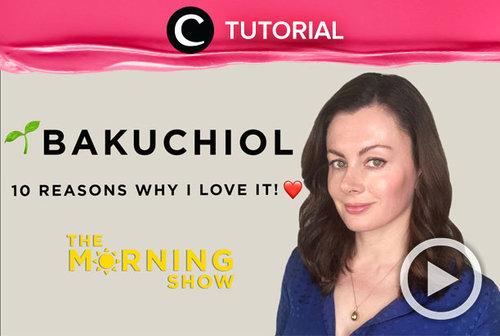 Bakuchiol merupakan kandungan skincare yang disebut-sebut dapat menggantikan Retinol. Intip selengkapnya melalui video yang di-share kembali oleh Clozetter @ranialda ini: https://bit.ly/3mWtXBd. Lihat juga tutorial dan tips lainnya di Tutorial Section.