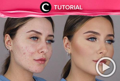 Masih sering gagal menyamarkan acne scars pada wajahmu? Coba intip tips makeup ini: http://bit.ly/3bzCJ1U. Video ini di-share kembali oleh Clozetter @dintjess. Lihat juga tutorial lainnya di Tutorial Section.