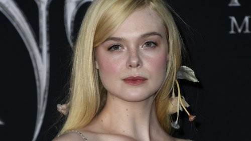 Elle Fanning's Floral Hair Is a Fairytale Fever Dream