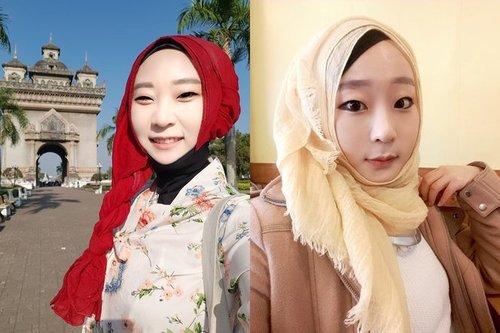 Inspirasi Hijab Song Bora, Muslimah Korea Selatan