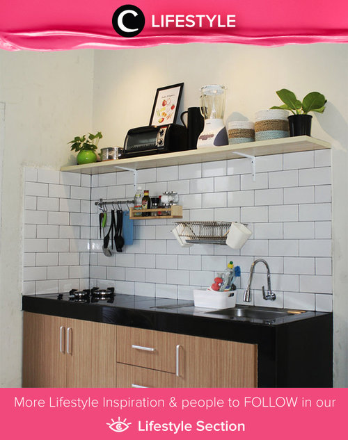 Let's decorating kitchen to improve mommy's mood to cook for family. Simak Lifestyle Updates ala clozetters lainnya hari ini di Lifestyle Section. Image shared by Clozette Crew: @riawidiati. Yuk, share spot favoritmu bersama Clozette.