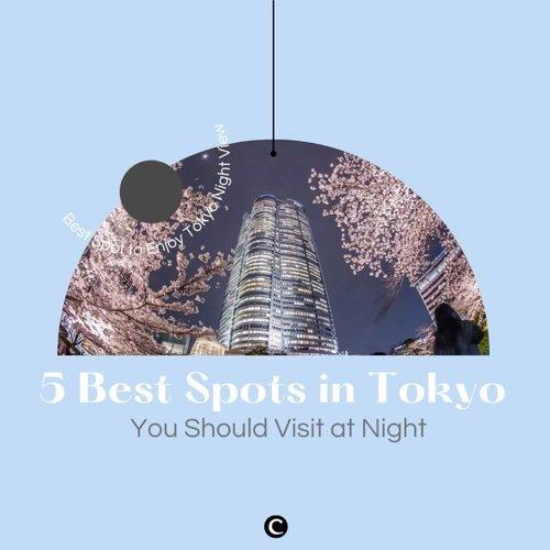 Menjelajahi destinasi wisata di Tokyo pada siang hari mungkin sudah menjadi hal biasa bagi sebagian orang. Namun yang harus kamu tahu, Tokyo di malam hari juga nggak kalah cantiknya, lho!Berikut Clozette beri rekomendasi 5 spot favorit untuk menikmati indahnya gemerlap cahaya kota Tokyo di malam hari melalui video berikut.Mau tahu lebih lengkapnya? Yuk, klik link berikut ini bit.ly/ClzTokyoatNight (LINK ON BIO)#ClozetteID #ClozetteIDVideo #ClozetteXCoolJapan #ClozetteIDCoolJapan