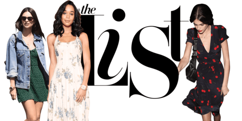 #TheList: All the New Spring Dresses To Know