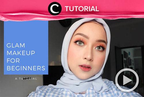 Here's the easiest way to look glam with makeup: http://bit.ly/2NF1Dmp. Video ini di-share kembali oleh Clozetter @saniaalatas. Lihat juga tutorial lainnya di Tutorial section.
