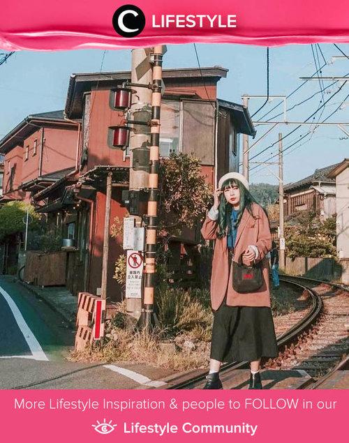 Clozetter @yunitaelisabeth91 shared her throwback moment in Japan. Simak Lifestyle Update ala clozetters lainnya hari ini di Lifestyle Community. Yuk, share momen favoritmu bersama Clozette.