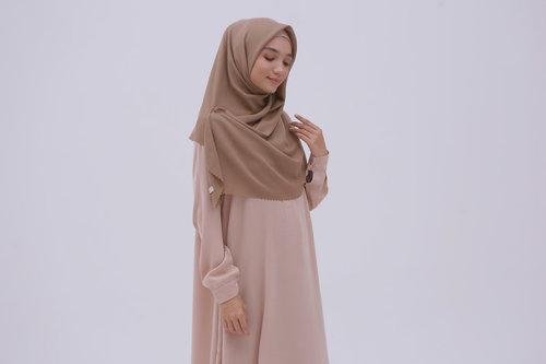 Tutorial Hijab Segi Empat Berkacamata Goreng