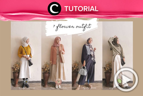 Flower outfit you need to check: https://bit.ly/3oJ6DYg. Video ini di-share kembali oleh Clozetter @shafirasyahnaz. Lihat juga tutorial lainnya di Tutorial Section.