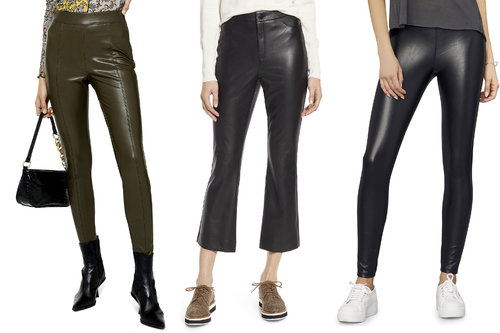 The best vegan leather pants to add some animal-friendly edginess to your fall wardrobe