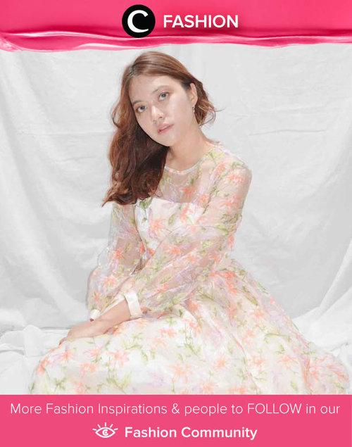 Clozetter @abigailfrida looks lovely with her flowery dress. Simak Fashion Update ala clozetters lainnya hari ini di Fashion Community. Yuk, share outfit favorit kamu bersama Clozette.