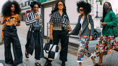 The Proper Way to Style Prints According to London Fashion Week Street Style Stars