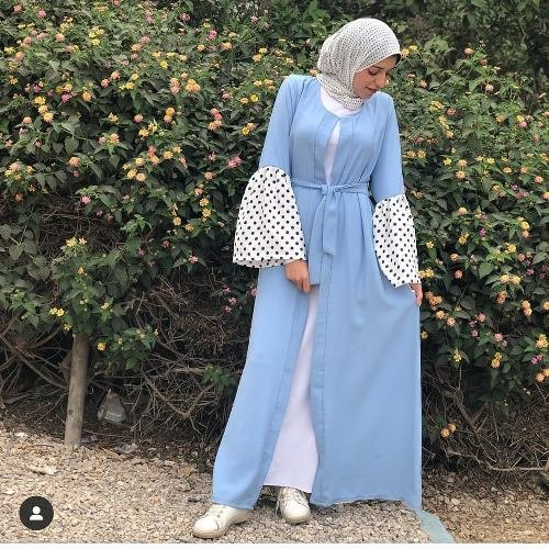 Abaya styles for Ramadan outings – Just Trendy Girls