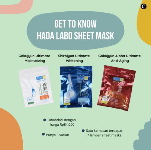 Rekomendasi kita untuk slow Sunday pampering adalah the new Hada Labo sheet mask! Siapa sih yang nggak kenal dengan brand ikonik asal Jepang ini. Yes, awal Oktober kemarin mereka baru aja merilis varian sheet mask yang di dalam kemasannya itu ada 7 lembar sheet mask! Jadi lebih minim sampah kemasan juga, nih. . Jangan lupa sesuaikan sama kebutuhan kulit kamu, ya. Kira-kira kamu paling cocok pakai yang mana? . #ClozetteID #ClozetteIDCoolJapan #ClozetteXCoolJapan #sunscreen #skincare