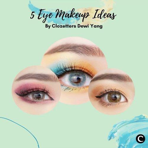 Mau rayain tahun baru bareng keluarga secara virtual? Makeup kamu harus tetap on, dong! Ada 5 inspirasi eye makeup dari Clozetters @dewiyang_ yang bisa kamu terapkan di rumah, nih! Simak videonya, ya.#ClozetteID #ClozetteIDVideo#eyemakeup #makeuplook