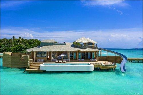 Maladewa Bakal Buka Vila Atas Air Terbesar di Dunia
