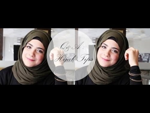 Q&A : Hijab Tips (for beginners) - YouTube
