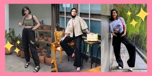 Tips Mix & Match Celana Hitam Supaya Nggak Bosan