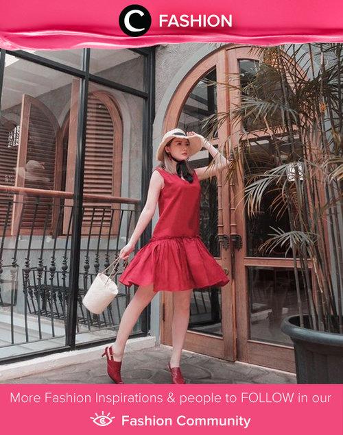Clozette Ambassador @vicisienna shared her playful, red-dominated look and we love it! Simak Fashion Update ala clozetters lainnya hari ini di Fashion Community. Yuk, share outfit favorit kamu bersama Clozette.