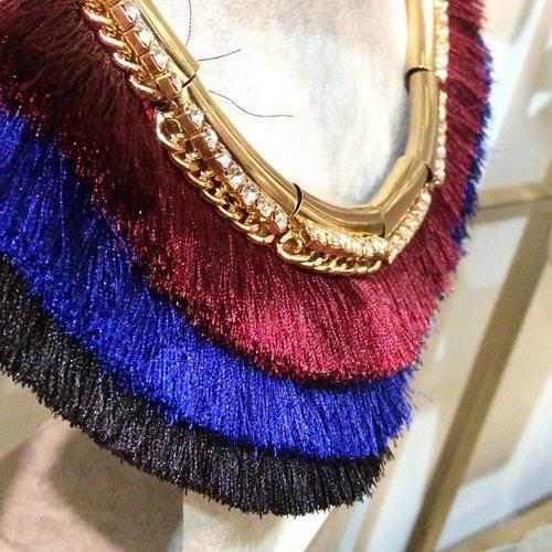 The boho vibes coming from this layered necklace are strong! Dan kalung ini pasti sempurna untuk ide #COTW kali ini, dipadankan dengan busana #ethnic -mu!  Cc: @darlingrockid #ClozetteID #necklace #fashionaccessories #fashionista #styleoftheday #style #boho #layerednecklace #gold #glam #beautiful #lovely #colorful #darlingrock #instaglam #instamoment #instamoment #instafashion #fashionoftheday
