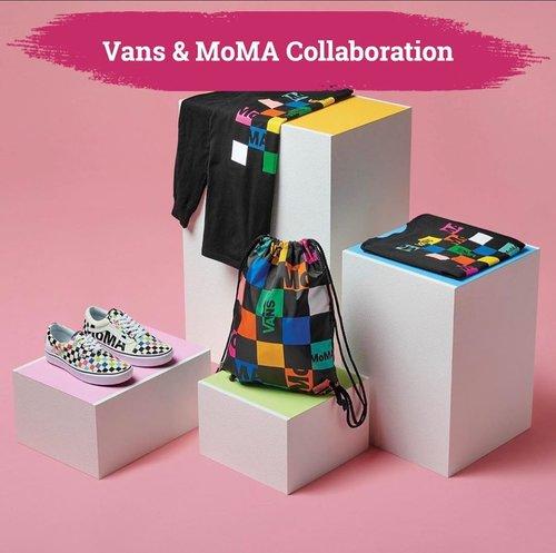 Dalam rangka selebrasi sejarah 90 tahun The Museum of Modern Art sebagai lembaga budaya yang berkomitmen untuk sharing seni modern dan kontemporer, MoMa akan berkolaborasi dengan @vans. Koleksi ini segera available di website vans.com/moma. For more info, kamu bisa cek akun @vans & @themuseumofmodernart, ya Clozetters!  📷@vans  #ClozetteID #vans
