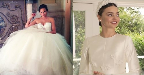 The 11 Best Celebrity Wedding Dresses of the Decade, Because 10 Weren't Enough
