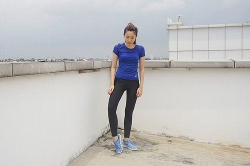 Dengan memakai workout outfit yang stylish dari Nike, Clozette Ambassador Jessica semakin semangat untuk mempersiapkan diri mengikuti NTC Tour Sabtu, 16 April ini. #ClozetteID #BetterForIt #ForABetterMe