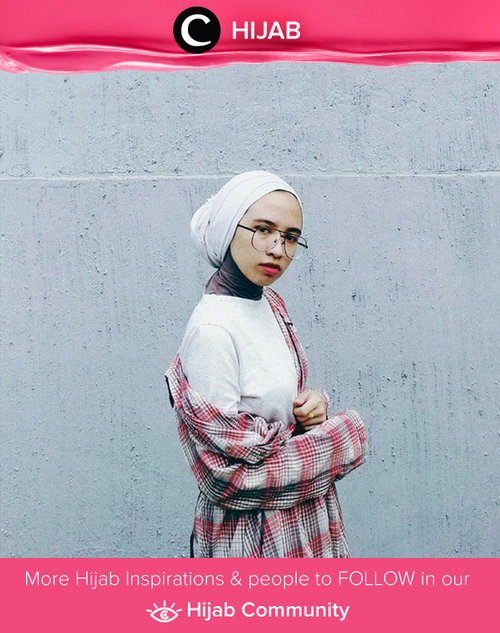 This could be the real deal. Plaid and plain outfit. Simak inspirasi gaya Hijab dari para Clozetters hari ini di Hijab Community. Image shared by Star Clozetter @putrimarina. Yuk, share juga gaya hijab andalan kamu