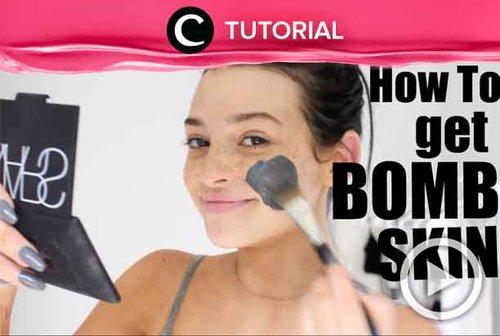 Healthy complexion is always on trend! Simak caranya di: http://bit.ly/2L7SXUR. Video ini di-share kembali oleh Clozetter @salsawibowo. Lihat juga tutorial lainnya di Tutorial Section.