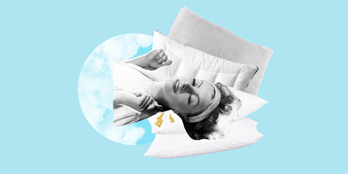 Psst: If You're Waking Up with Neck Pain, You're Probs Using the Wrong Pillow