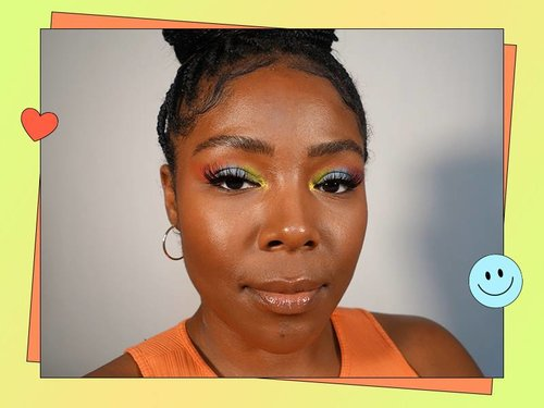Colorful Eyeshadow Look for Summer 2021