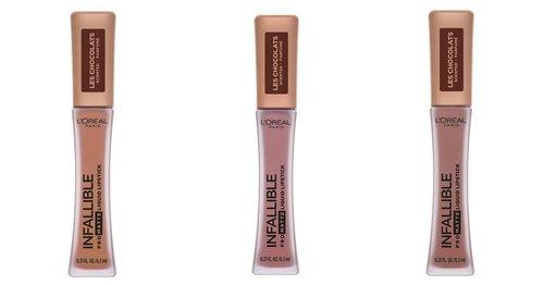 Pretty Sweet: L'Oréal Paris Launches Chocolate-Scented Liquid Lipsticks