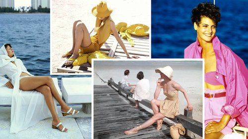 Shop 5 Monochrome Beach Looks Inspired by the Vogue Archive
