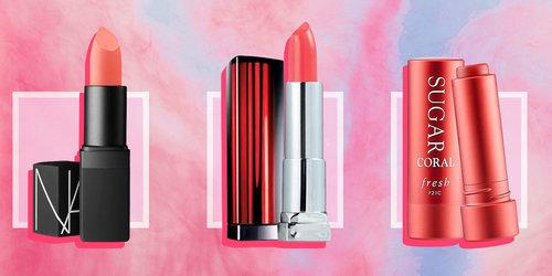 Pilihan Lipstik Coral, Tren Pantone 2019