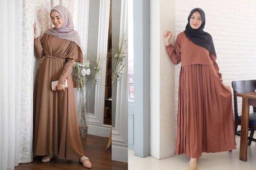 7 Warna Hijab yang Cocok Dipadukan dengan Gamis Cokelat dan Gak Bikin Kusam