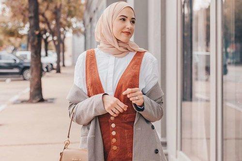 Inspirasi Fall Makeup Tutorial dari Hijaber Texas