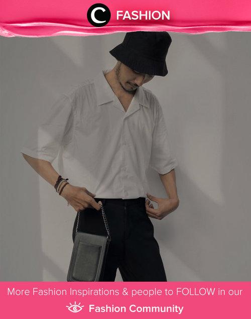 Basic look for Sunday ala Clozetter @zeinlontah. Simak Fashion Update ala clozetters lainnya hari ini di Fashion Community. Yuk, share outfit favorit kamu bersama Clozette.
