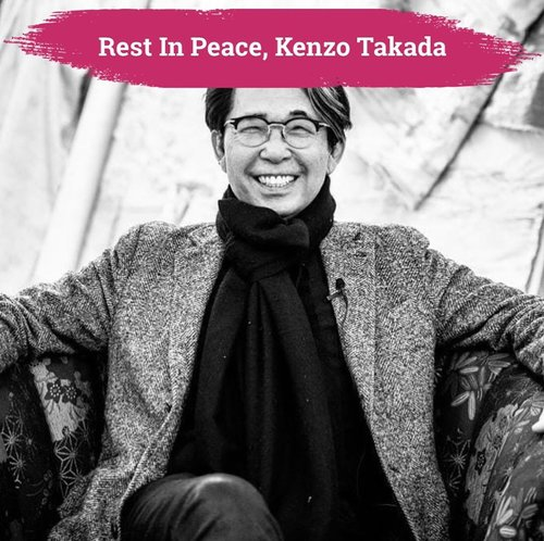 Deepest condolences to the Japanese designer of the global brand, @Kenzo, Kenzo Takada. Meninggal dunia karena komplikasi Covid-19 di Paris, Prancis hari Minggu, 4 Oktober 2020.  His legacy will live forever, may he rest in peace.  📷 @kenzotakada_official  #ClozetteID #ClozetteIFCoolJapan #ClozetteXCoolJapan