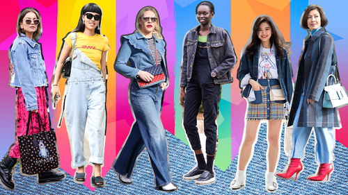 Your Comprehensive Denim Guide for Spring 2018