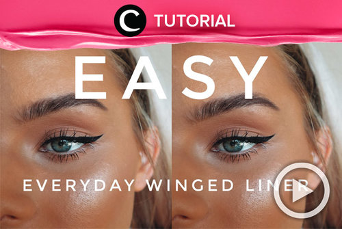 Everyday winged liner tips: https://bit.ly/375fR9b. Video ini di-share kembali oleh Clozetter @aquagurl. Lihat juga tutorial lainnya di Tutorial Section.