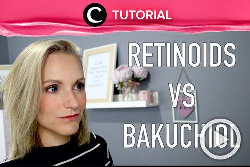 Belakangan ini, Bakuchiol menjadi salah satu ingredient skincare yang naik daun dan dijadikan alternatif dari retinol. Coba intip dulu yuk, perbedaan di antara keduanya: https://bit.ly/3gQRHWc. Video ini di-share kembali oleh Clozetter @aquagurl. Lihat juga tutorial lainnya di Tutorial Section.