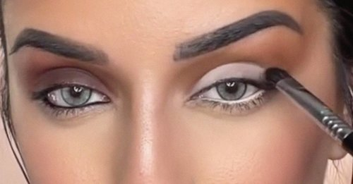 This TikTok shows how dramatically makeup can change your eye size, giving the illusion of much smaller or bigger eyes