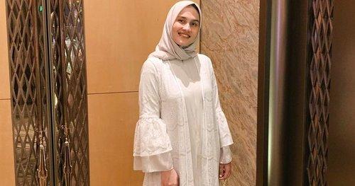 Referensi OOTD Kondangan Hijab dari Influencer Dwi Handayani