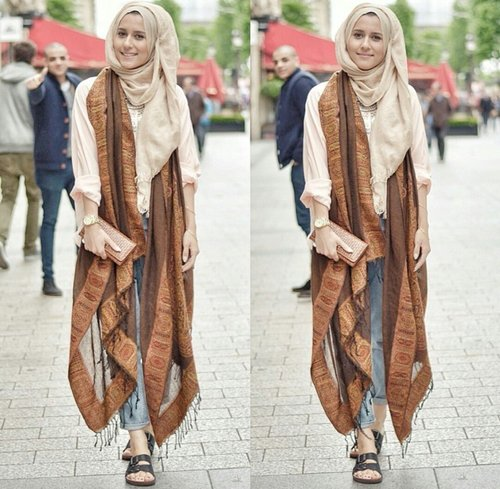 Fashion Tips: Bohemian Style Hijab