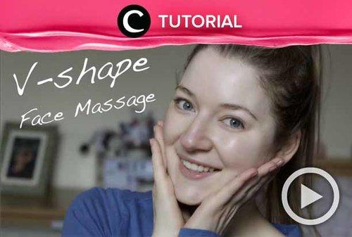 Ingin wajahmu tampak lebih tirus? Coba intip cara face massage berikut: http://bit.ly/2YZyibP. Video ini di-share kembali oleh Clozetter @aquagurl. Lihat juga tutorial lainnya di Tutorial Section.