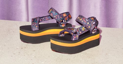 The Platform Sandal Is Going To Have Its Moment This Spring