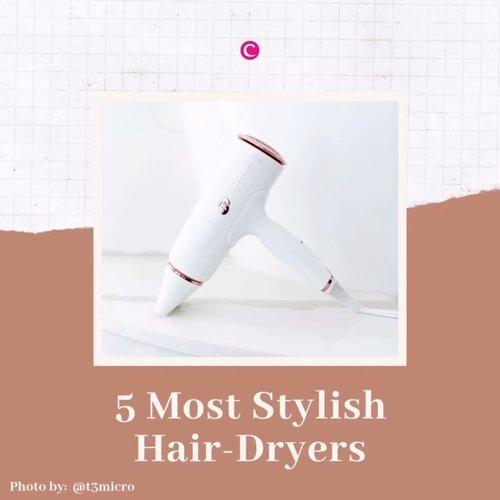 Tunjuk tangan yang nggak bisa tahan liat packaging dengan desain yang cantik nan menggemaskan!🙋🏻♀️.Nggak cuma produk kosmetik saja yang biasa menggunakan desain cantik untuk menarik perhatian, beberapa peralatan styling rambut juga mempunyai desain cantik yang bisa membuat siapapun yang melihatnya nggak tahan untuk memakainya! Produk apa saja itu? Bisa kamu cek melalui video berikut!.Untuk yang yang ingin tahu lebih lanjut tentang kelima most stylish hair-dryers tersebut bisa membaca artikelnya di bit.ly/stylishhairdryers (LINK ON BIO).#ClozetteID #ClozetteIDVideo #ClozetteIDCoolJapan #ClozetteXCoolJapan.📷 @dysonhair @kristin_ess @panasonic_beauty @thedrybar @t3micro