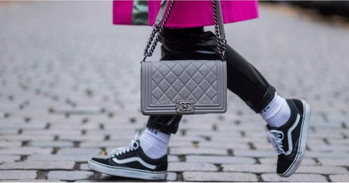 """<div class=""""photoCaption"""">Just For Kicks: Our Editors Chose 39 Cool Sneakers They're Wearing All 2019 Long</div>"""